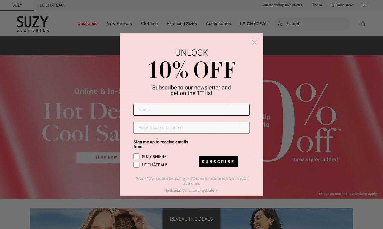 SuzyShier.com 1
