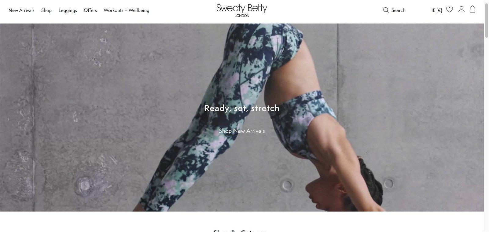 Sweaty betty.com 1