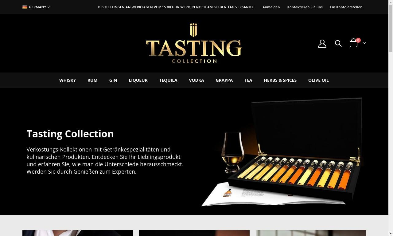 Tastingcollection.com 1