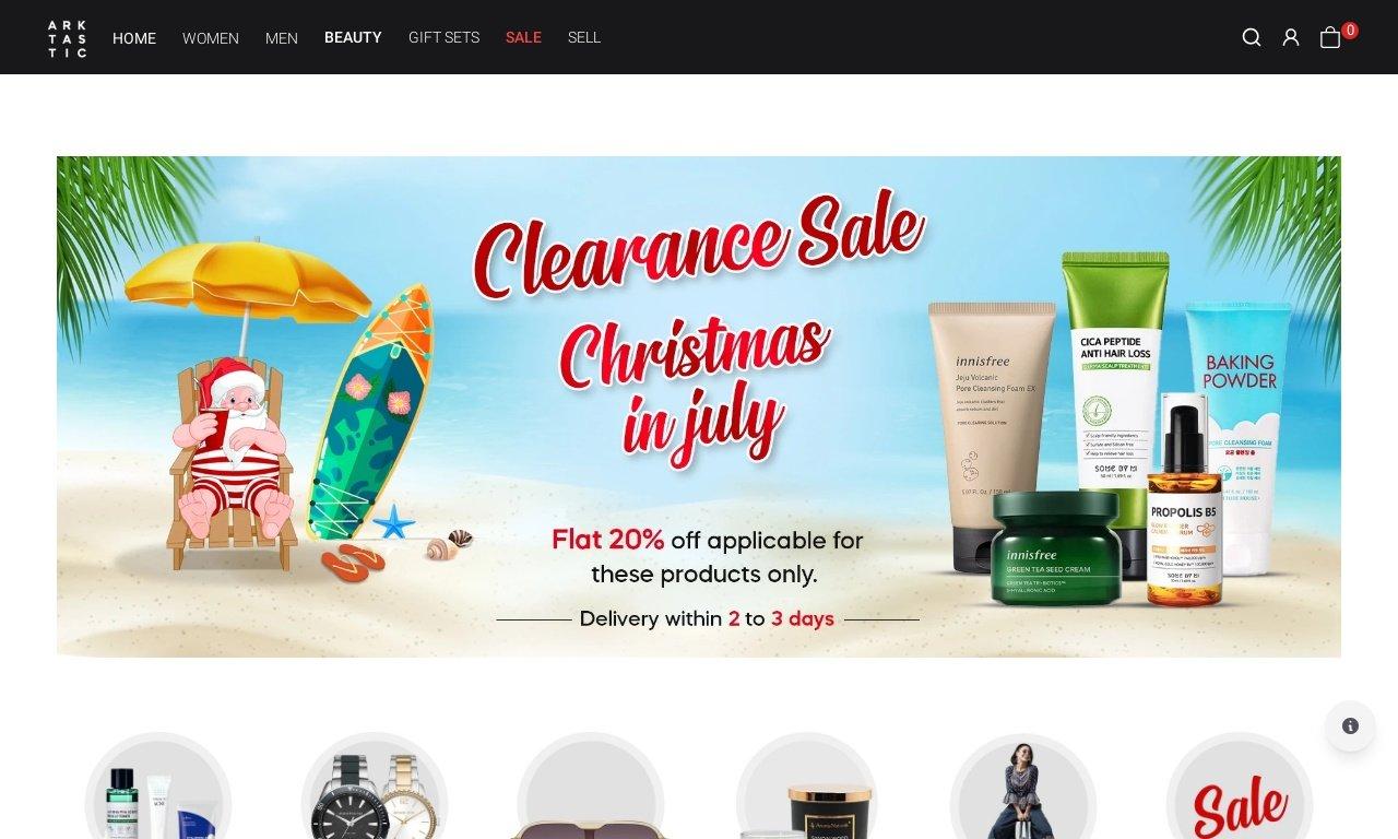 The arktastic.com 1