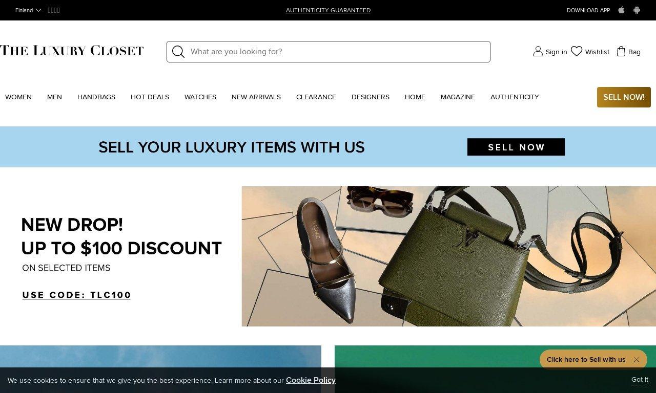 The luxury closet.com 1