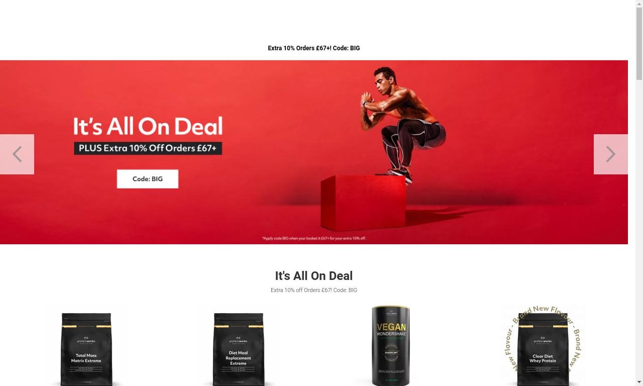 The protein works.com 1