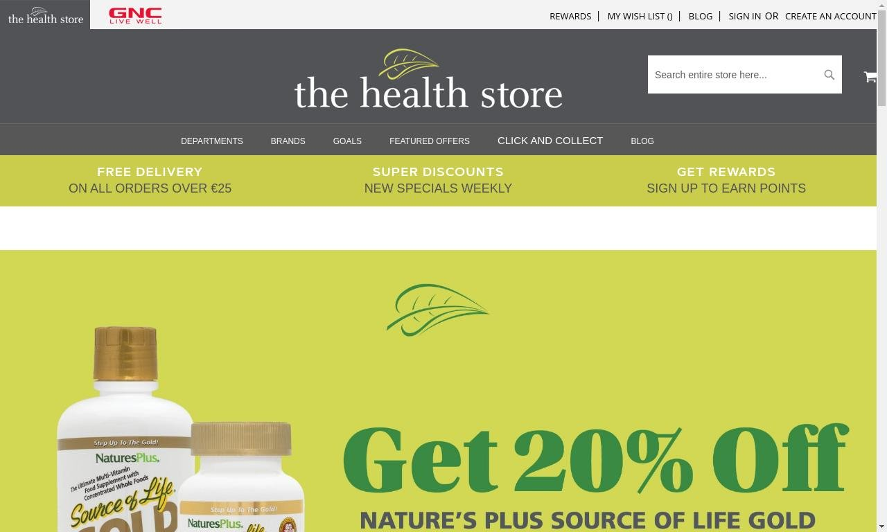Thehealthstore.ie 1