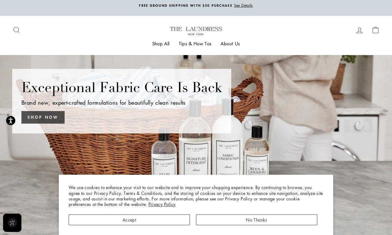 Thelaundress.com 1