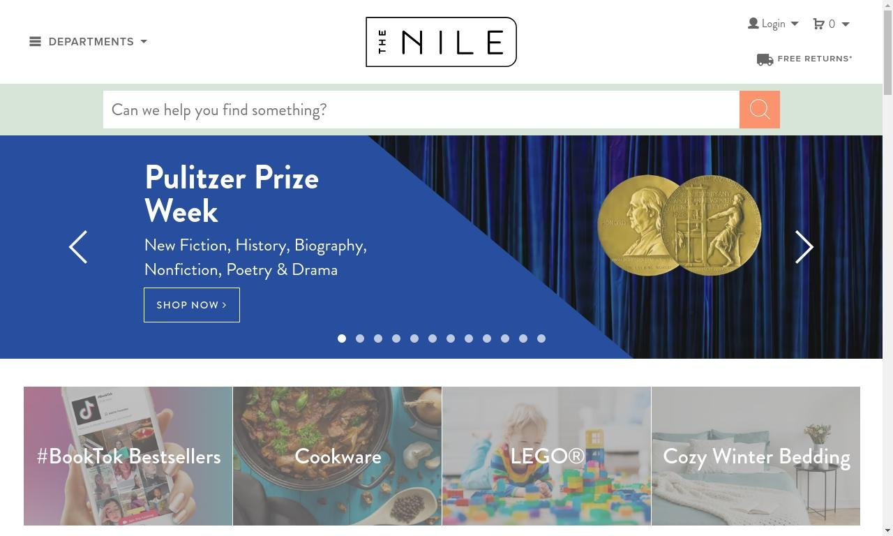Thenile.com.au 1
