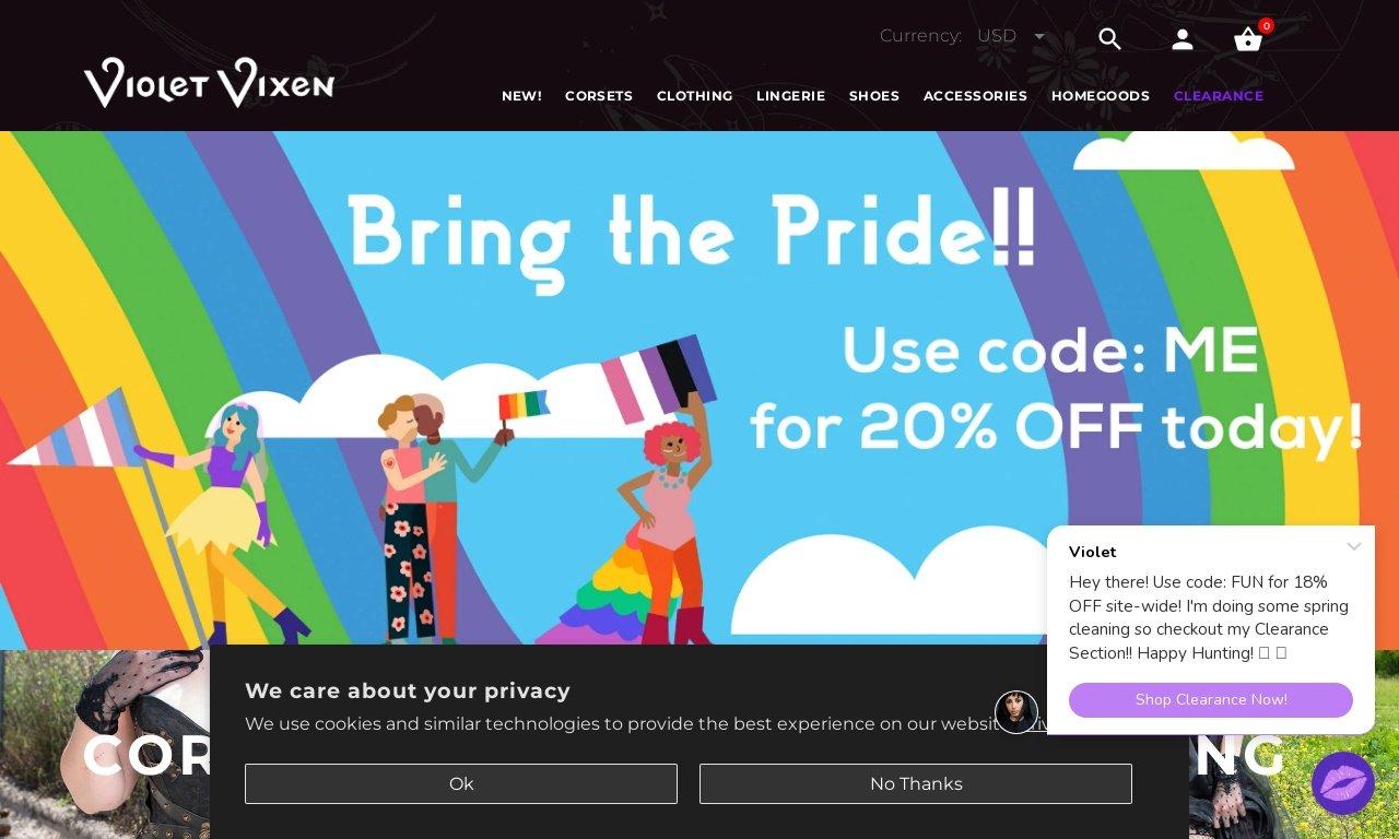 Thevioletvixen.com 1