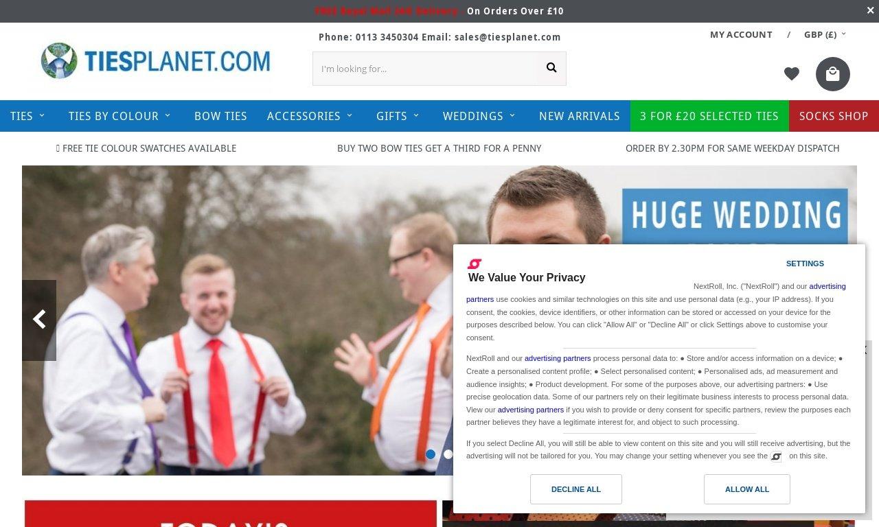 Tiesplanet.com 1