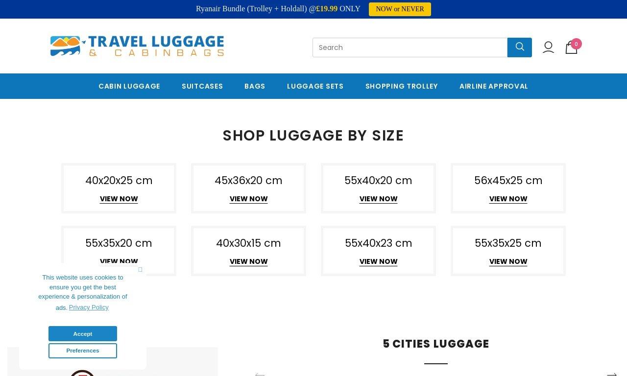 TravelLuggageCabinBags.com 1