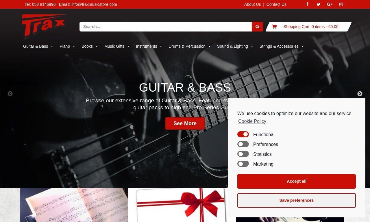 TraxMusicStore.com 1