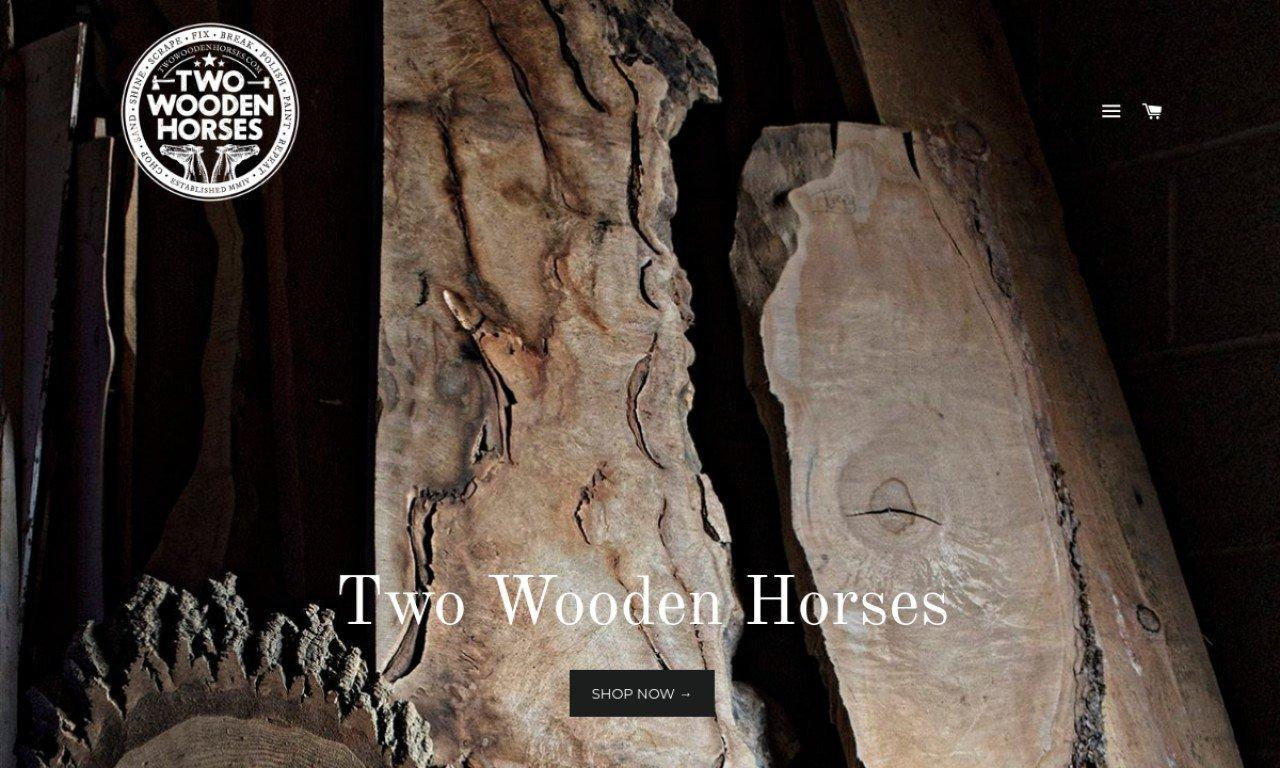 Twowoodenhorses.com 1