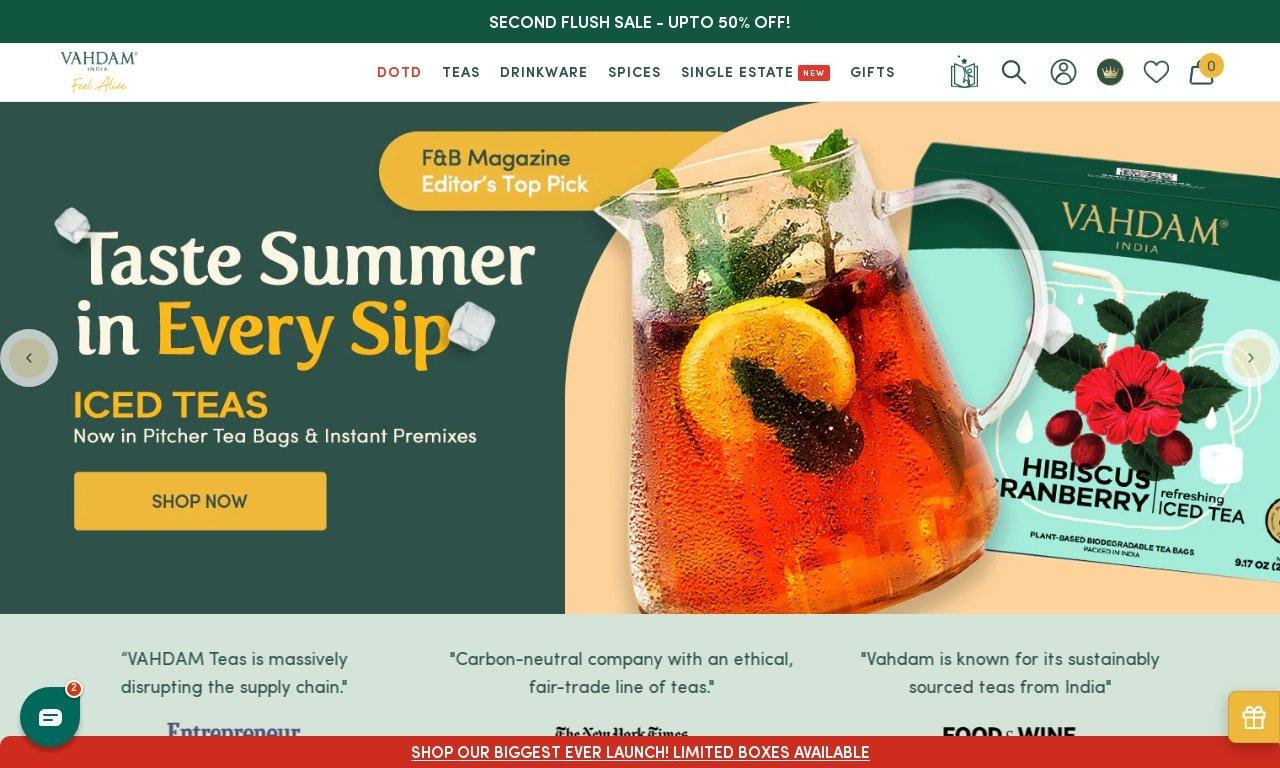 Vahdam.com 1