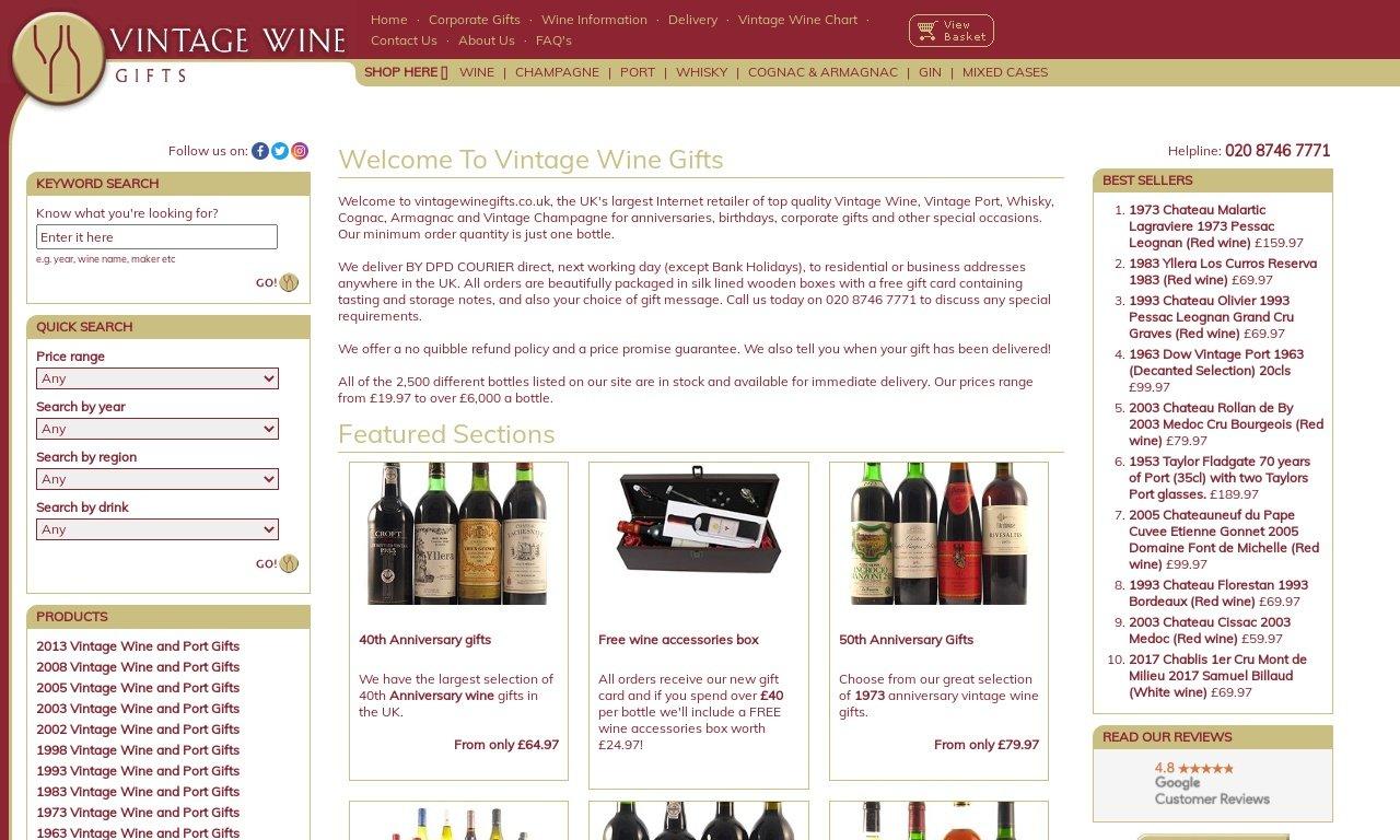 Vintagewinegifts.co.uk 1