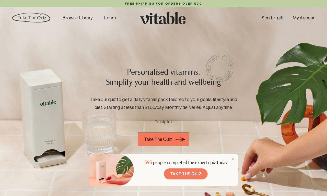 Vitable.com.au 1