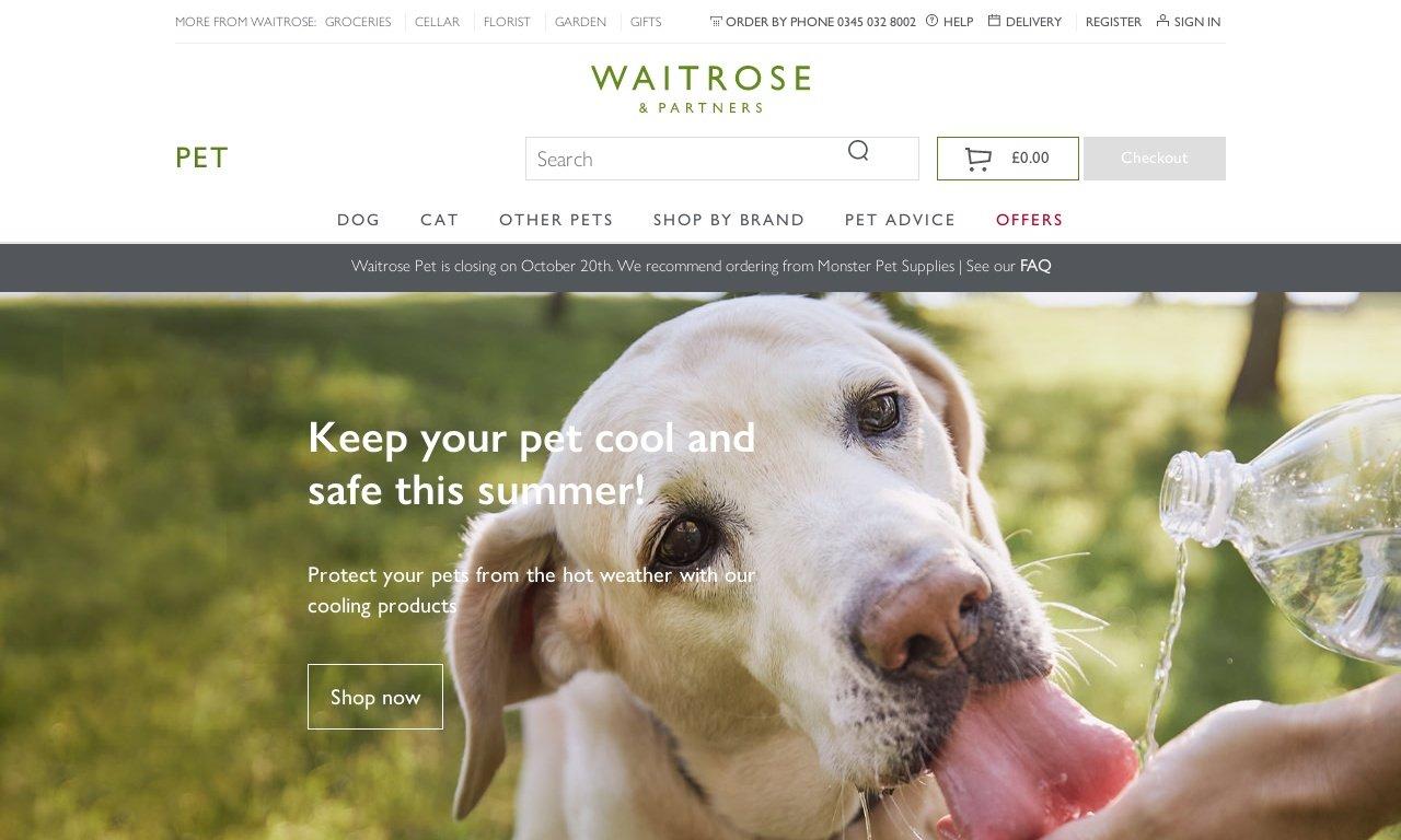 Waitrose pet.com 1