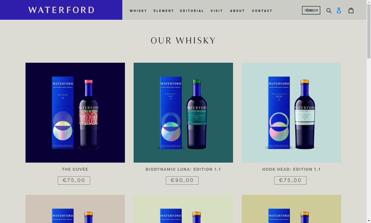 Waterford whisky.com 1