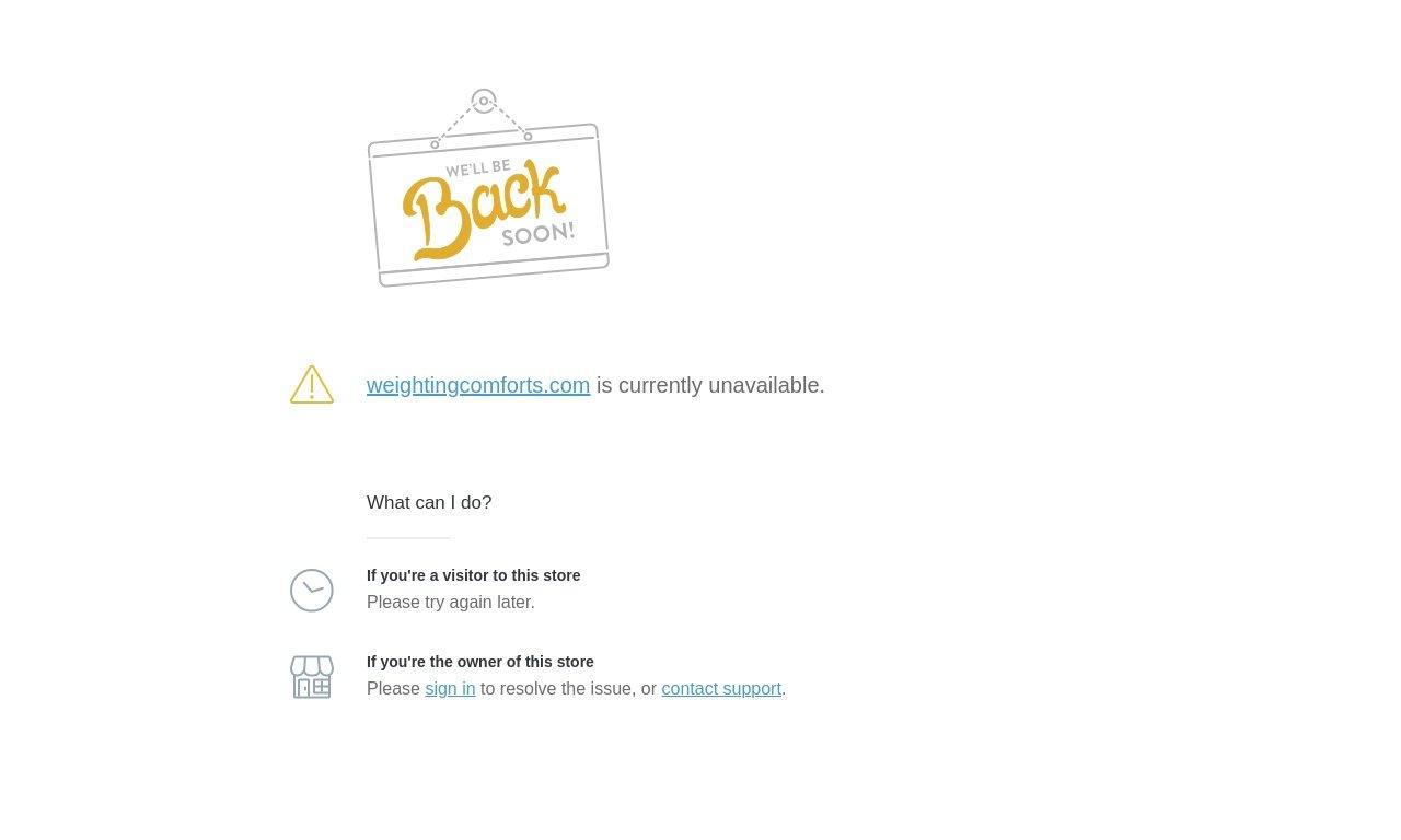 Weightingcomforts.com 1