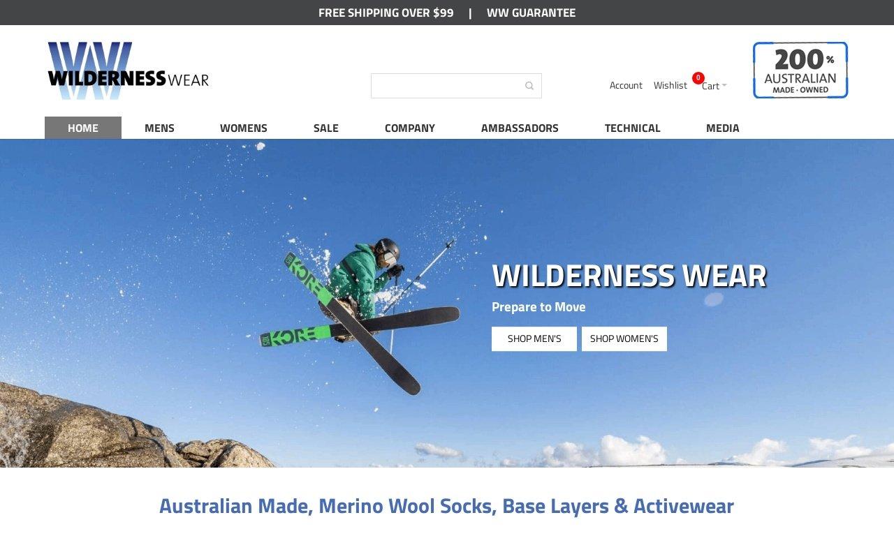 Wildernesswear.com.au 1