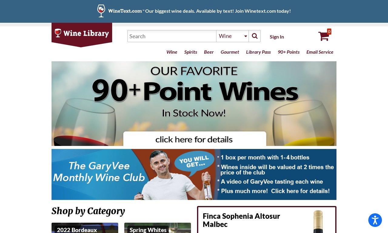 Wine library.com 1