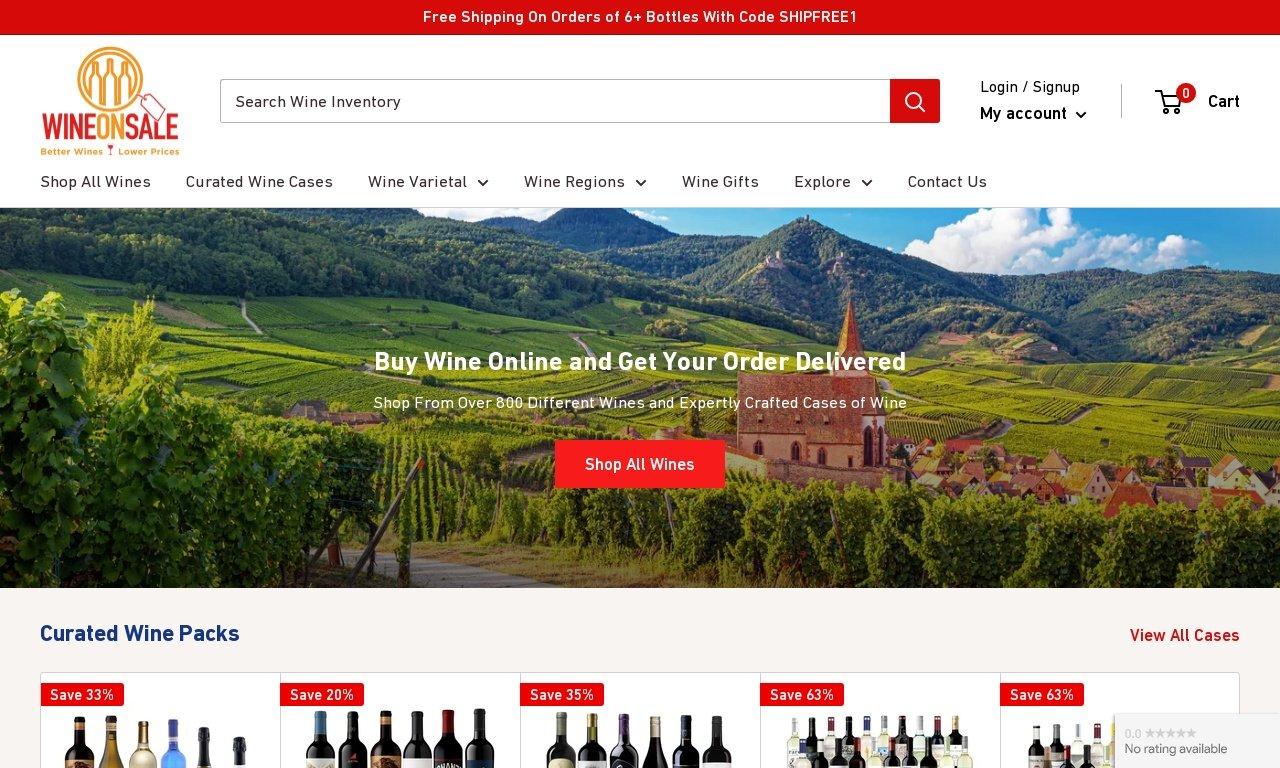 Wineonsale.com 1