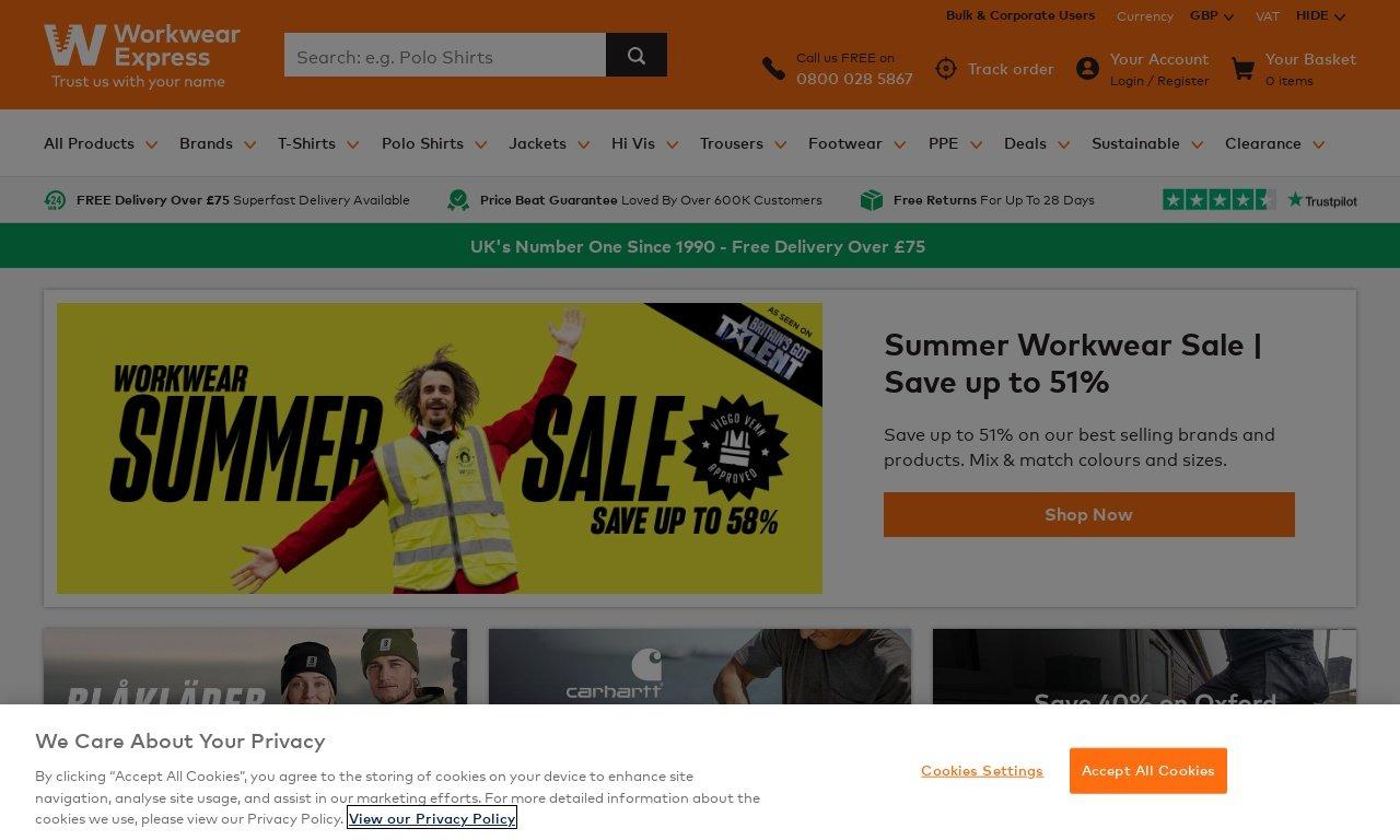 Workwearexpress.com 1