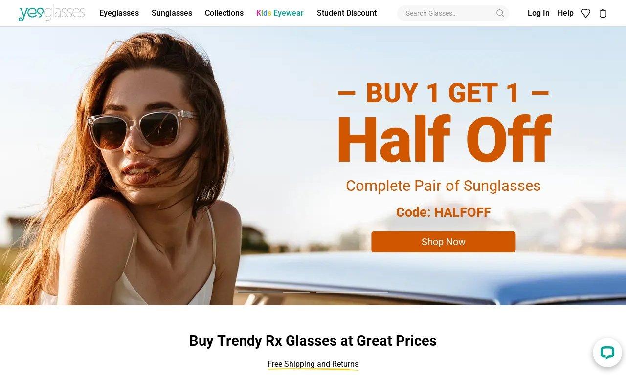 Yesglasses.com 1