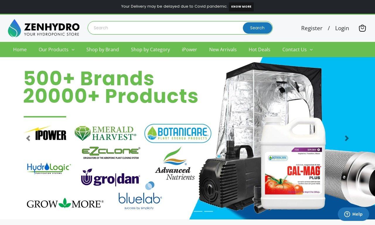 ZenhyDro.com 1
