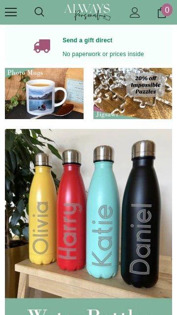 AlwaysPersonal.co.uk 2