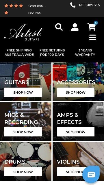 Artistguitars.com.au 2