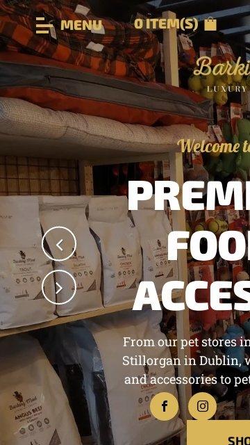 Barkingmad pet boutique.ie 2
