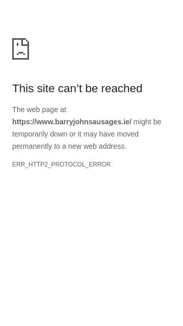 Barryjohnsausages.ie 2