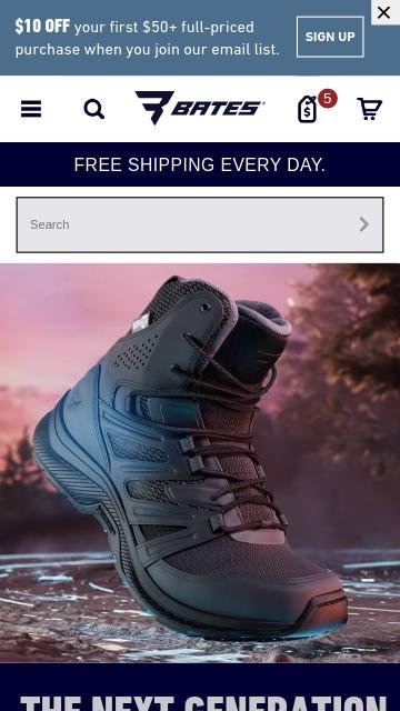 Batesfootwear.com 2