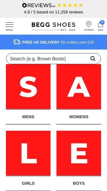 Beggshoes.com 2