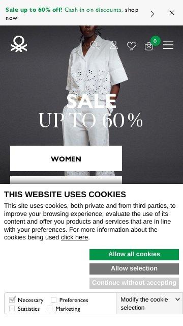 Benetton.com USA 2