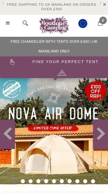 Boutique Camping 2