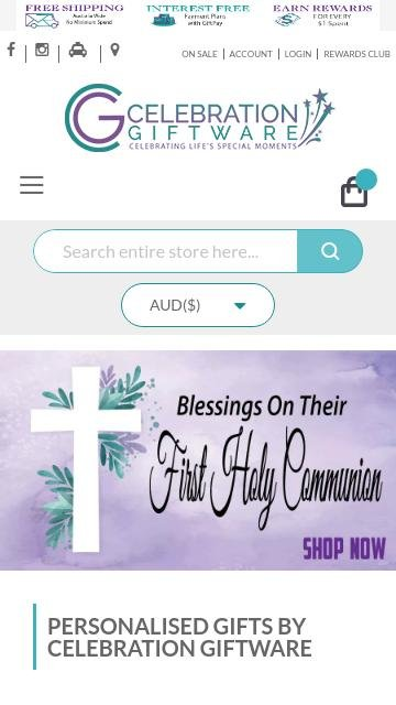 Celebrationgiftware.com.au 2