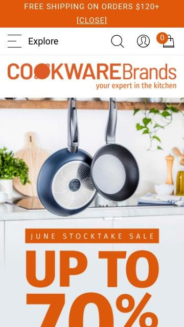 Cookwarebrands.com.au 2