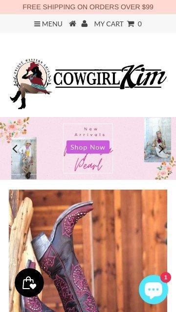 Cowgirlkim.com 2