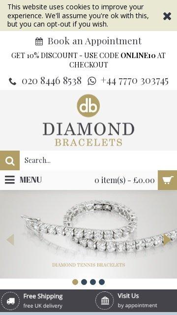 Diamond-bracelets.co.uk 2