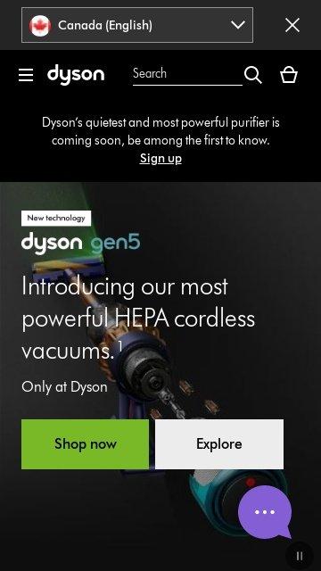 Dyson canada.ca 2