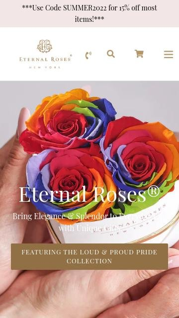 Eternal roses.com 2