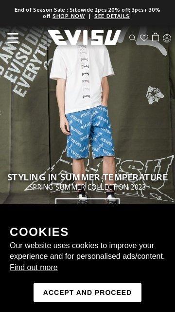 Evisu.com 2