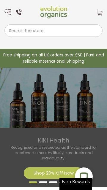 Evolution organics.co.uk 2