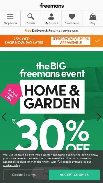 Freemans.com 2