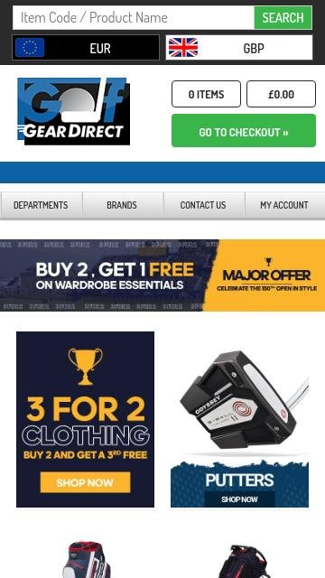 Golf gear direct.co.uk 2