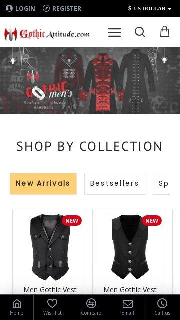Gothic attitude.com 2