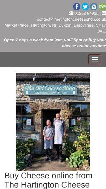 Hartingtoncheeseshop.co.uk 2