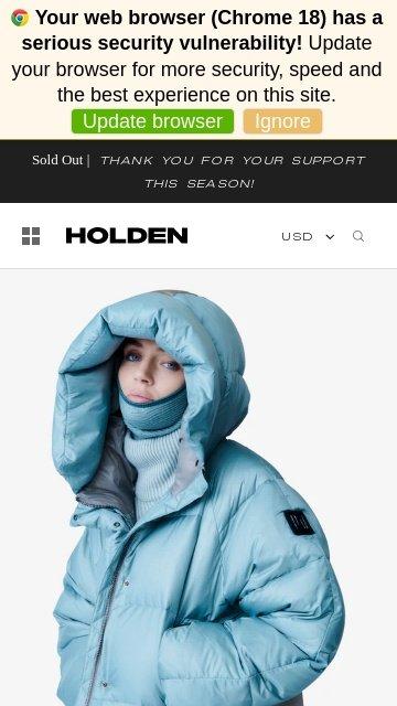Holdenouterwear.com 2