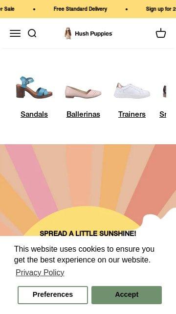 Hush puppies.com 2