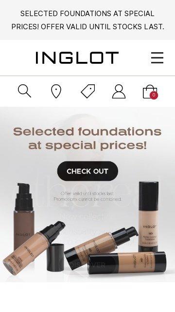 Inglot cosmetics.com.au 2