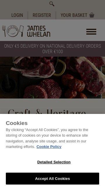 Jameswhelanbutchers.com 2